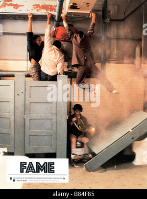 Fame  Year : 1980 Gene Anthony Ray  Director: Alan Parker - Stock Photo