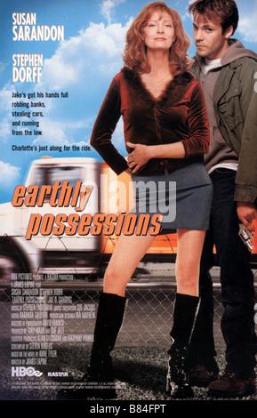Les Fugueurs Earthly Possessions (1999) USA Affiche / Poster Susan Sarandon, Stephen Dorff  Director: James Lapine - Stock Photo