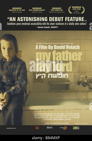 My Father my Lord Hofshat Kaits  Year: 2007 - Israel Affiche / Poster Ilan Grif  Director: David Volach - Stock Photo