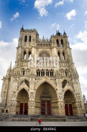 Amiens Cathedral France Cathedrale Notre-Dame d'Amiens Stock Photo