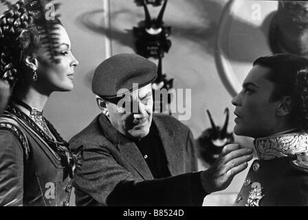 Ludwig  Year: 1972  Italy Director: Luchino Visconti Romy Schneider, Luchino Visconti, Helmut Berger  Shooting picture - Stock Photo