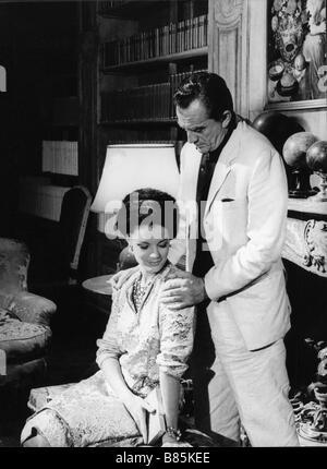 Boccaccio '70  segment 'Il lavoro' Year: 1962 Italy / France  Director : Luchino Visconti  Romy Schneider, Luchino - Stock Photo