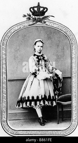Grand Duchess Maria Alexandrovna of Russia - Stock Photo