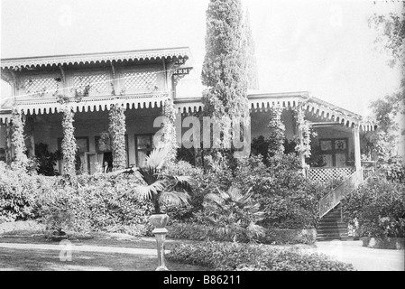 Villa of Grand Duke Alexander Mikhailovich of Russia Aï Todor Crimea - Stock Photo