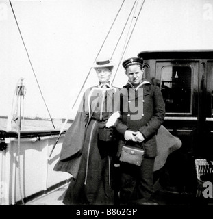 Prince Christopher of Greece and Grand Duchess Xenia of Russia - Stock Photo