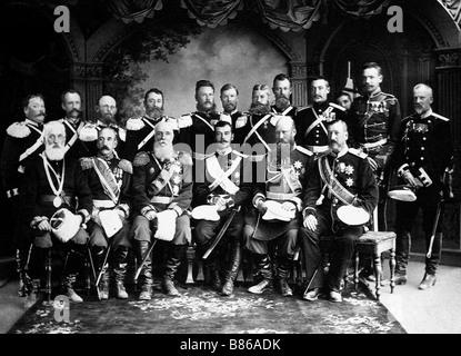 Nicholas Alexandrovich in 1891 - Stock Photo