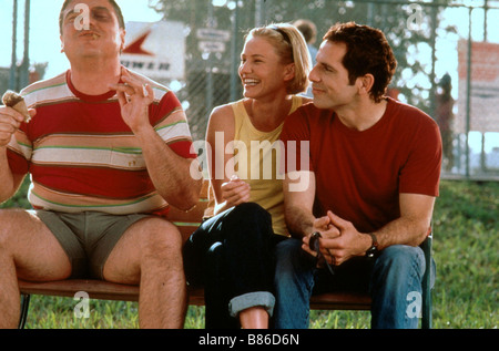 There's Something About Mary  Année : 1998 - USA W. Earl Brown, Cameron Diaz, Ben Stiller  Director : Bobby Farrelly, - Stock Photo