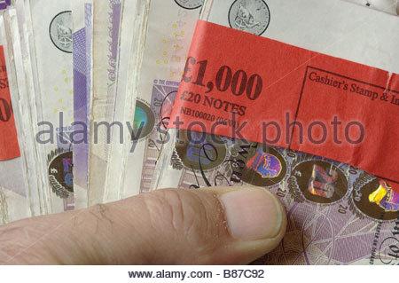 £ MONEY STERLING - Stock Photo
