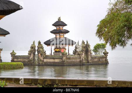 Ulun Danu Temple Bali Indonesia - Stock Photo