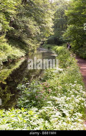 Cromford Canal, Derbyshire - Stock Photo