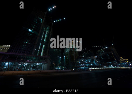 Las Vegas CityCenter, CityCenter, Las Vegas in Nevada, USA - Stock Photo
