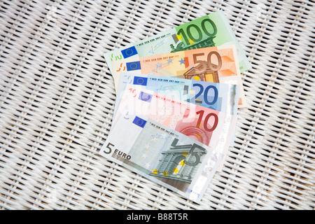 European EURO Banknotes - Stock Photo