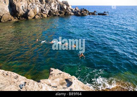St Angelo Ischia island - Stock Photo