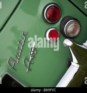 Austin A40 rear lights and bumper - Stock Photo