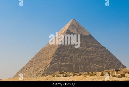 Pyramid of Giza Cairo - Stock Photo