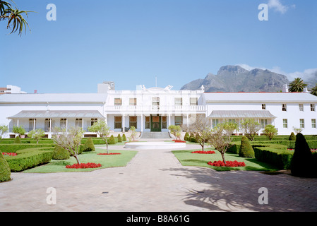 President House Tuynhuys Garden House in Company's Garden in Cape Town in South Africa in Sub Saharan Africa. Apartheid - Stock Photo