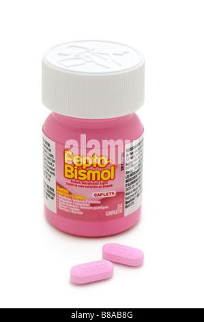 Pills Of Pepto Bismol Stock Photo 28055621 Alamy