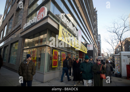 A Circuit City electronics store in New York - Stock Photo