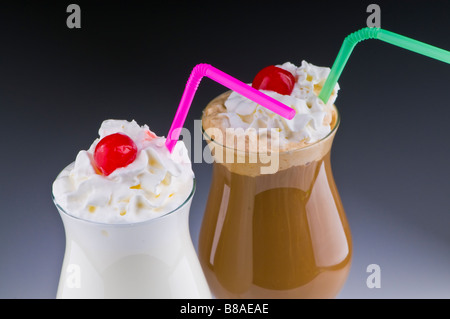 Two Tasty Drinks - Stock Photo