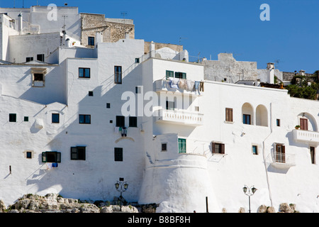 White washed buildings of Ostuni Puglia Italy