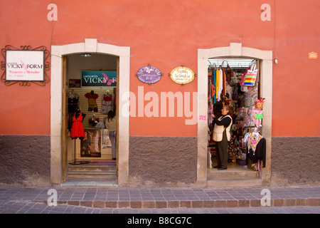 Street Scene in Guanajuato, Mexico - Stock Photo