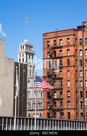 Architecture Downtown Rochester Ny Usa Stock Photo