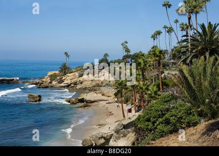 Shoreline  Laguna Beach, California - Stock Photo