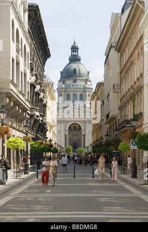 Saint stephen's basilica budapest - Stock Photo