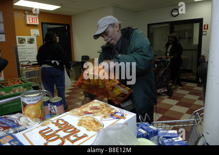 Food Pantry In East Harlem