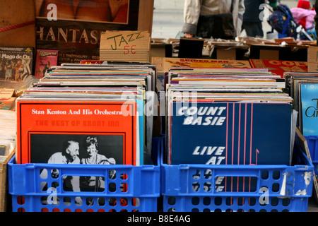 old vinyl records for sale in leiden netherlands stock photo royalty free image 86178075 alamy. Black Bedroom Furniture Sets. Home Design Ideas