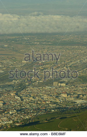 Cape Town South Africa AERIAL photo - Stock Photo