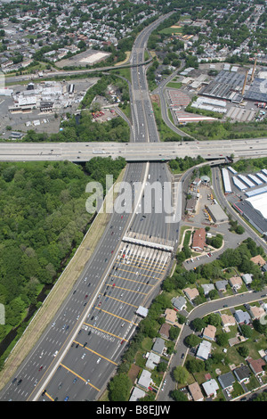 Aerial View Highway New Jersey Usa Stock Photo Royalty Free Image 75460304 Alamy