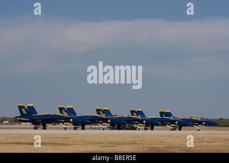 US Navy Blue Angels. - Stock Photo