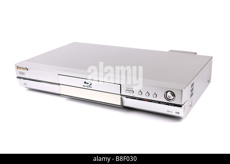 A DVD Blu Ray Digital TV Recorder against a white background - Stock Photo