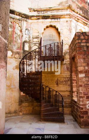 Stairs Jodhpur Rajasthan India - Stock Photo