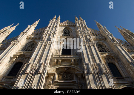 Milan Cathedral Duomo di Santa Maria  italy - Stock Photo