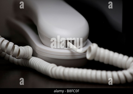 telephone at home - Stock Photo