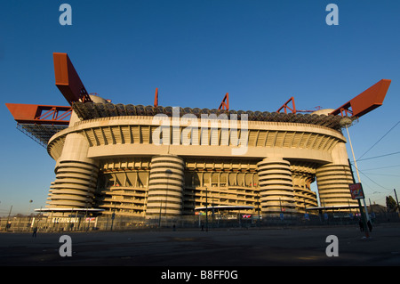 Ac Milan Inter Milan Soccer stadium San Siro - Stock Photo