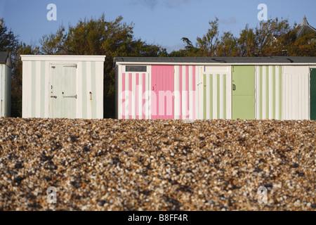 beachhuts - Stock Photo