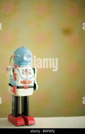 Robot, tin toy - Stock Photo