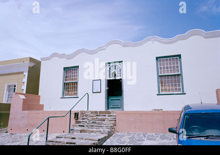 Bo Kaap Museum in Wale Street Cape Town in South Africa Sub Saharan Africa. History Historical Slavery Culture Cultural - Stock Photo