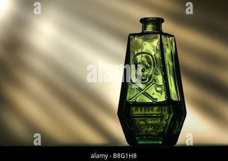 Poison bottle - Stock Photo