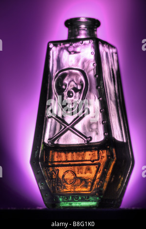 Poison bottle - Stock Photo