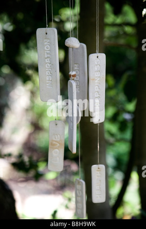 Decorative wind chime - Stock Photo