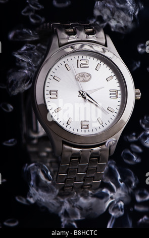 Watch under water - Stock Photo