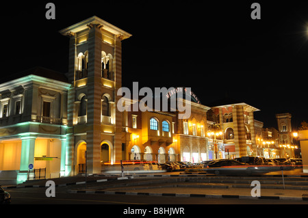 Mercato in Jumeirah Road, Dubai - Stock Photo