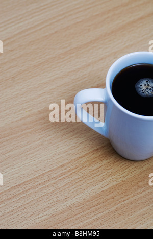 Close up of a cup of coffee - Stock Photo