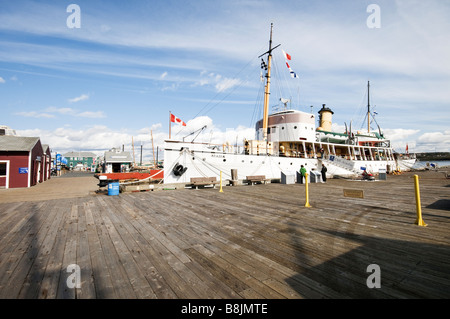 CSS Acadia Halifax Nova Scotia Canada - Stock Photo