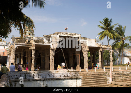 India Tamil Nadu Madurai Thiruchuli Village temple - Stock Photo