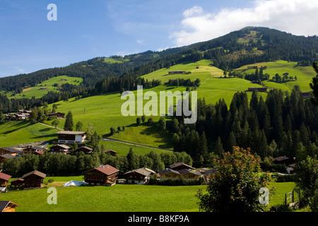 Landscape in the Alps - Stock Photo